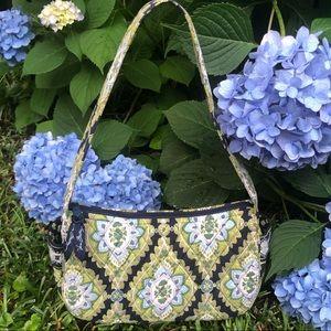 Vera Bradley Mini Handbag Top Zip